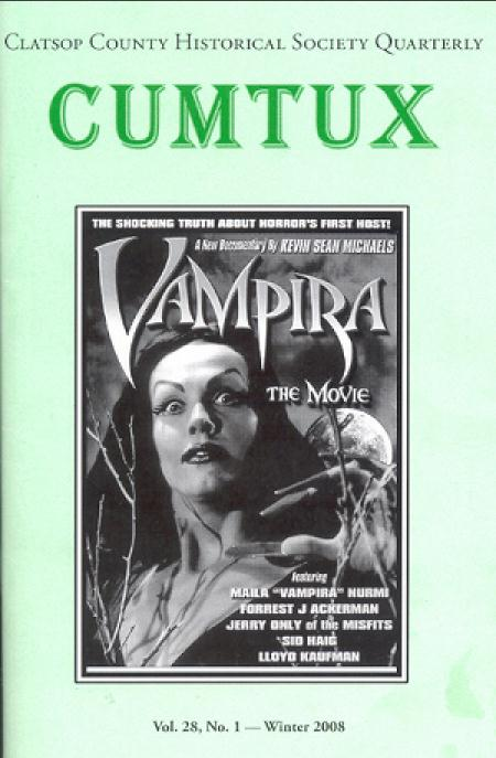 Vampira on the Cover of CUMTUX