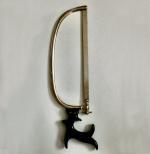 1880 Ebony Handled Bone Amputation Saw
