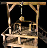 Miniature Working Gallows