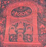 1870s Odd Fellows Wool Tapestry