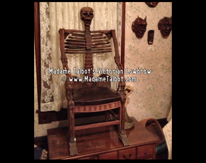 madame talbot s victorian lowbrow and gothic lowbrow 1930s carved