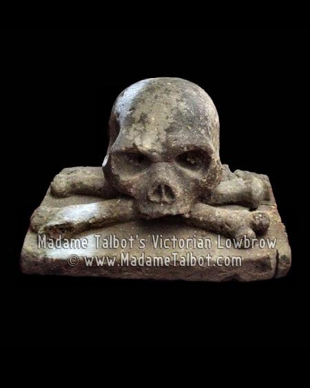 Medieval Skull & Crossbones from German Castle
