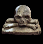 Medieval Skull & Crossbones from German Castle
