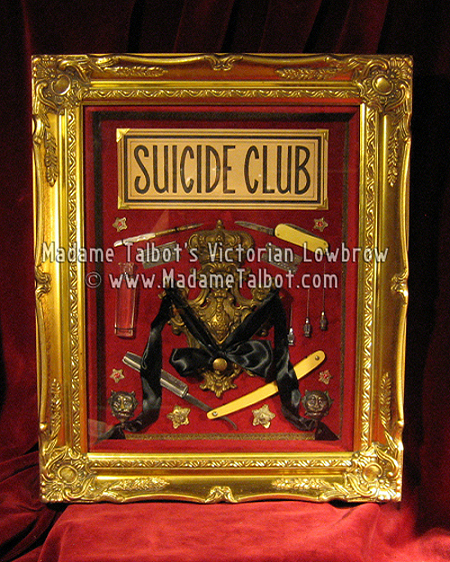 Suicide Club Framed Curio