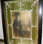 Victorian Case Framed Dental Collage Sign