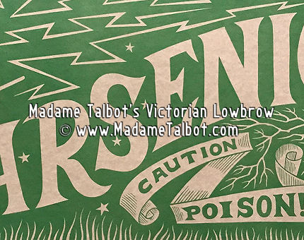 The Arsenic Label Poster