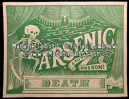Arsenic Poison Label Poster