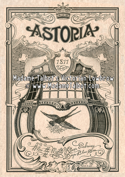 Astoria Oregon 1811 Poster