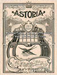 Astoria Oregon 1811 Poster