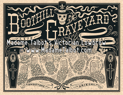 Boothill Graveyard Tombstone Poster