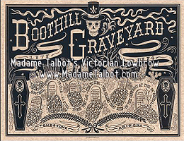 Tombstone Boothill Graveyard Poster
