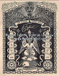 Aleister Crowley Baphomet Poster