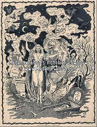 Danse Macabre Victorian Lowbrow Dark Art