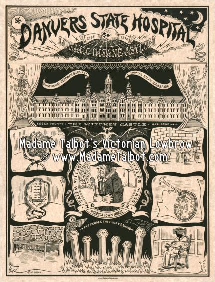 Danvers Insane Asylum Poster