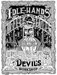 Idle Hands are the Devil's Playground Poster