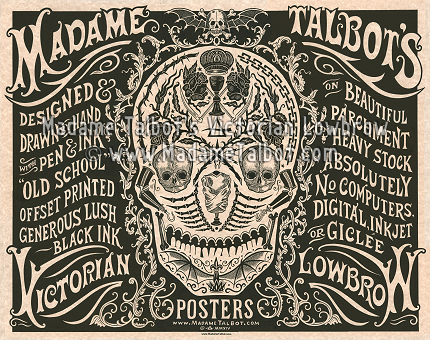 Madame Talbot Poster Display Poster