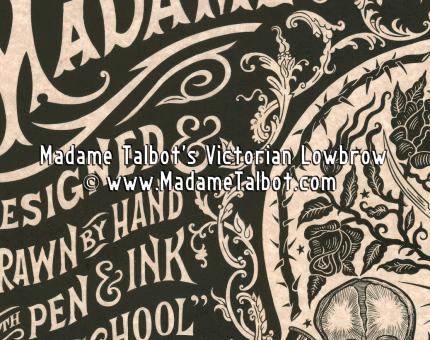 Madame Talbot Poster Display Poster