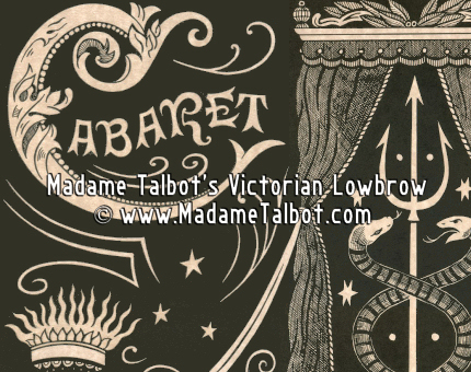 Paris Cabaret de L'Enfer Glow in the Dark Poster
