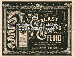 Everlast Necromort Embalming Fluid Poster