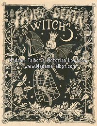 Fairy Death Witch Poster