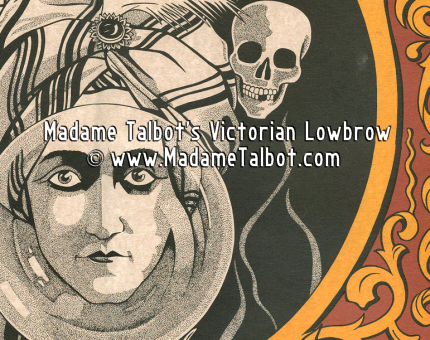 Fortune Teller Knows All Sideshow Luck Poster