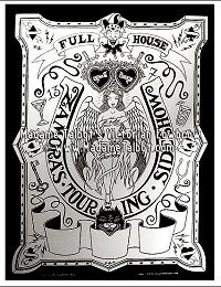 Full House Sideshow Zamora Poster