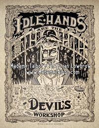 Idle Hands Parchment Poster