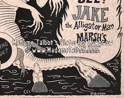 Jake the Alligator Man of Marsh's Museum