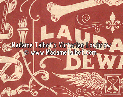 Victorian Laudanum Poison Poster