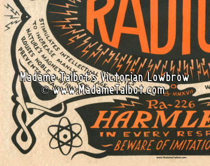 Liquid Sunshine Radium Poster