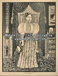 Lizzie Borden Victorian Lowbrow Crime Poster