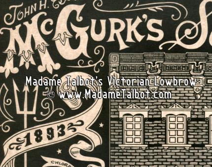 McGurk's Suicide Hall Poster