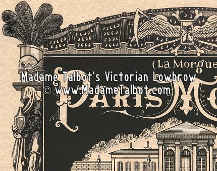 Paris Morgue Death House Poster