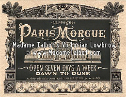 Paris Morgue Death House Poster