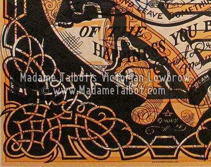 Madame Talbot Makeready Offset Poster No.3