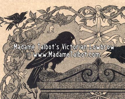 Remember Me Ravens in a Graveyard Memento Mori Poster