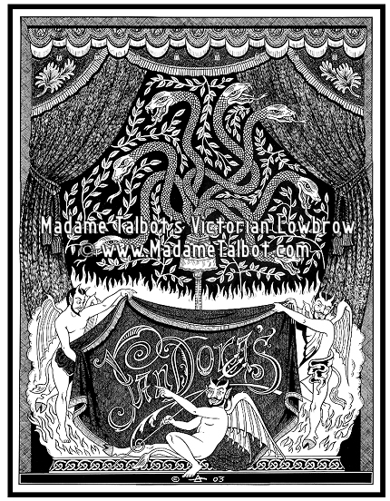 Pandora's Box of Snakes and Devils Poster