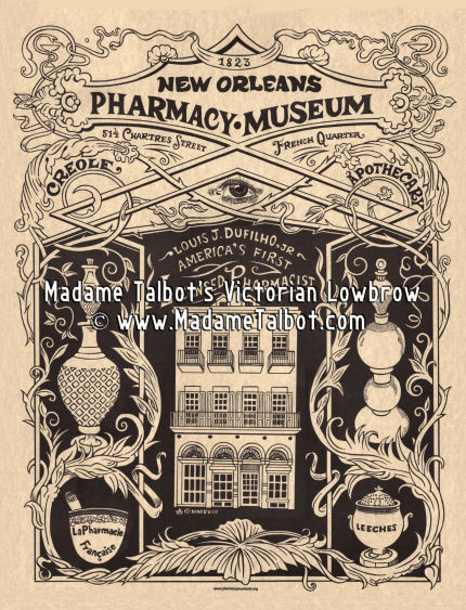 The New Orleans Pharmacy Museum Poster