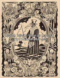 Black Death Plague Doctor Poster