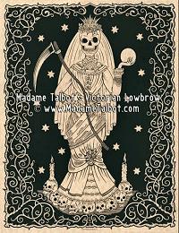 Santa Muerte Saint Death Poster