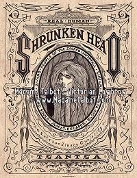 Shrunken Head Tsantsa Poster
