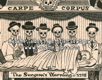 The Surgeon's Warning Poster