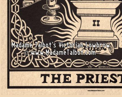 The Priestess Tarot Poster