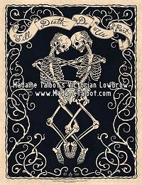 Till Death Do Us Part Skeletons Eternal Embrace Poster