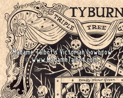 Tyburn Triple Tree Poster