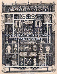Undertaker Mortician Funeral Victorian Lowbrow Curio Cabinet Poster
