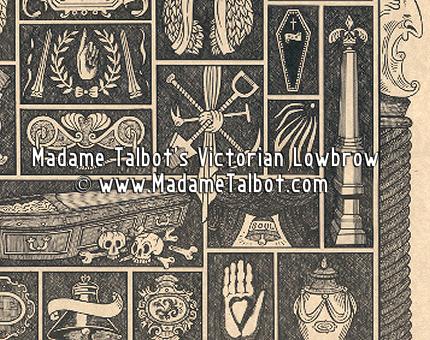 Victorian Undertaker's Cabinet of Curiosities