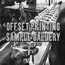 Offset Printing Samples